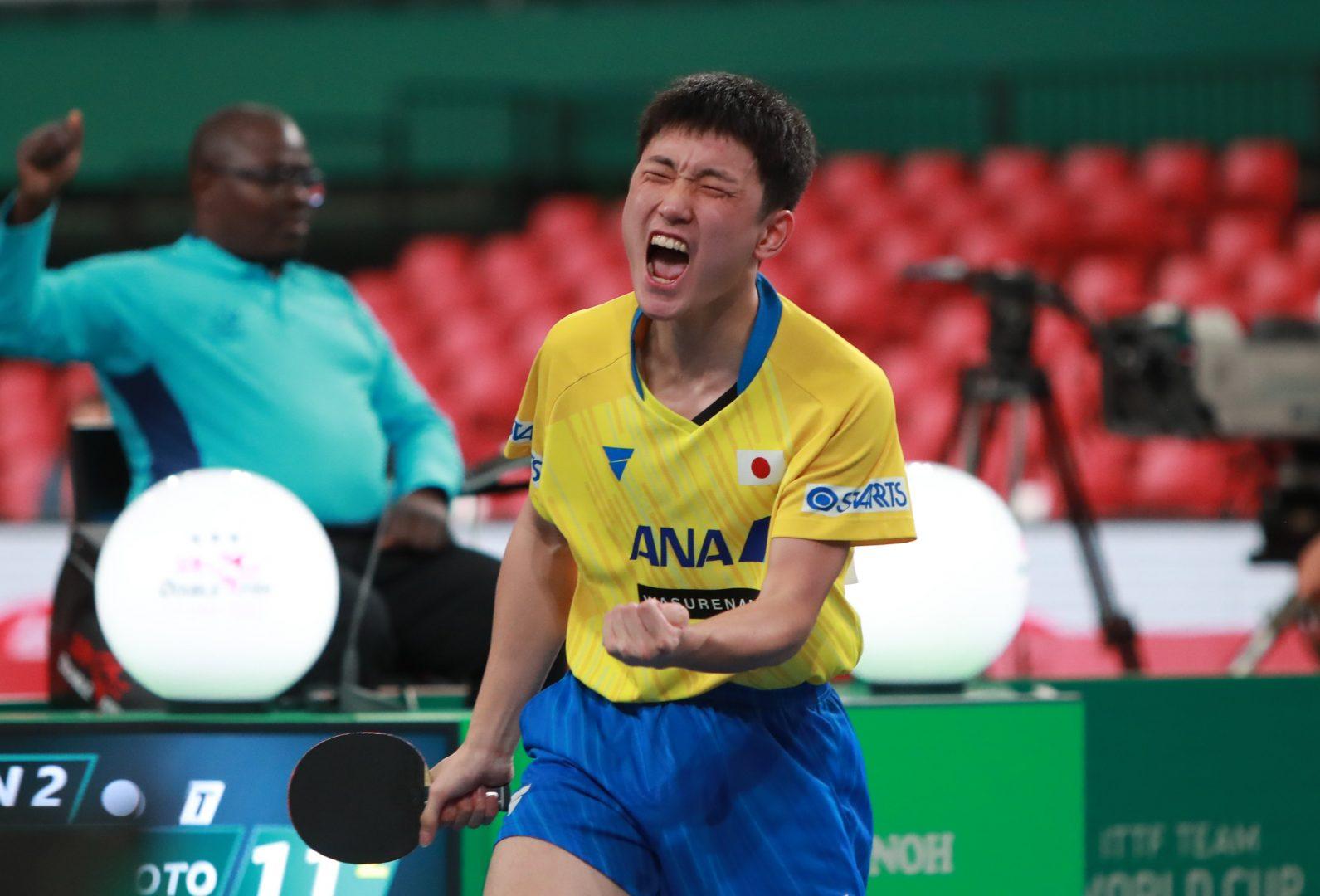 日本男子、卓球王国・中国へ挑む 張本・吉村・丹羽の対中国戦績を紹介<JA全農 卓球チームワールドカップ>