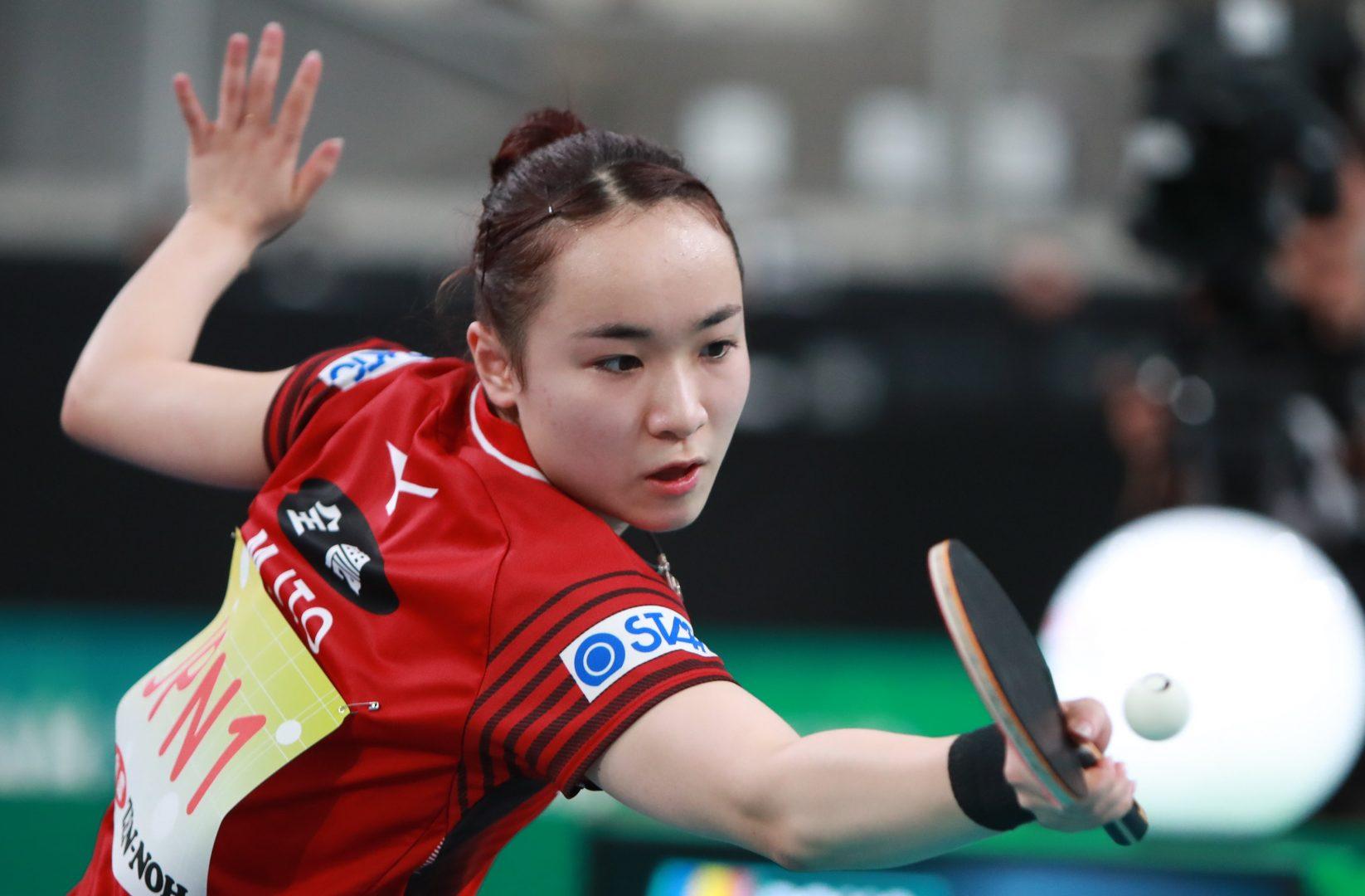伊藤美誠、異質ラバー対決制し2回戦へ<卓球・オーストリアオープン 女子単>