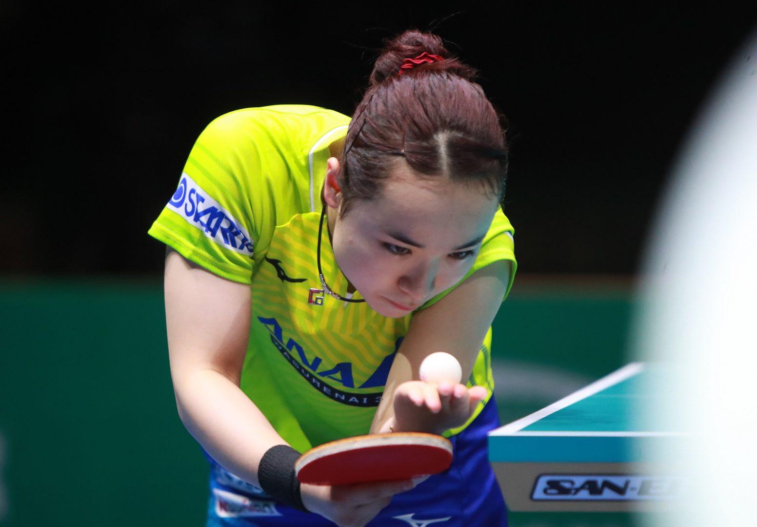 2020年1月有効な世界ランキングポイント(チームWC終了時点) 卓球五輪代表レースは拮抗状態
