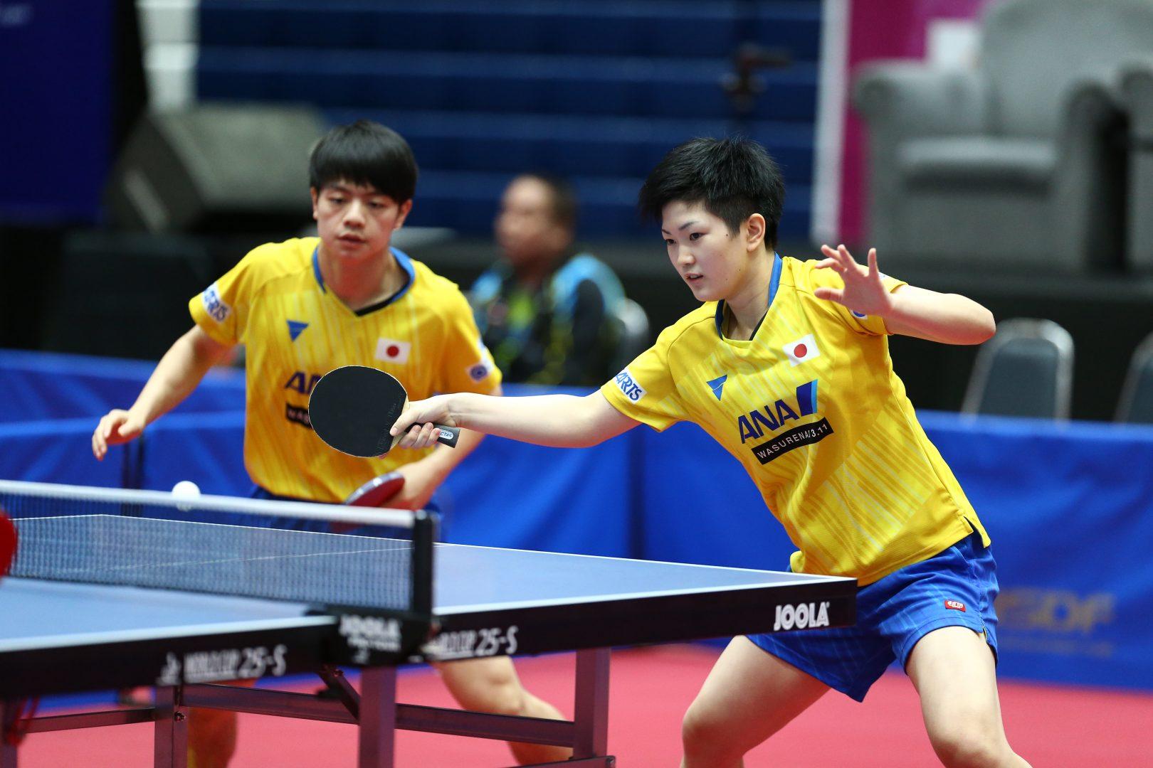 混合ダブルスで躍進する日本勢 8強入りなるか<世界ジュニア卓球選手権2019>