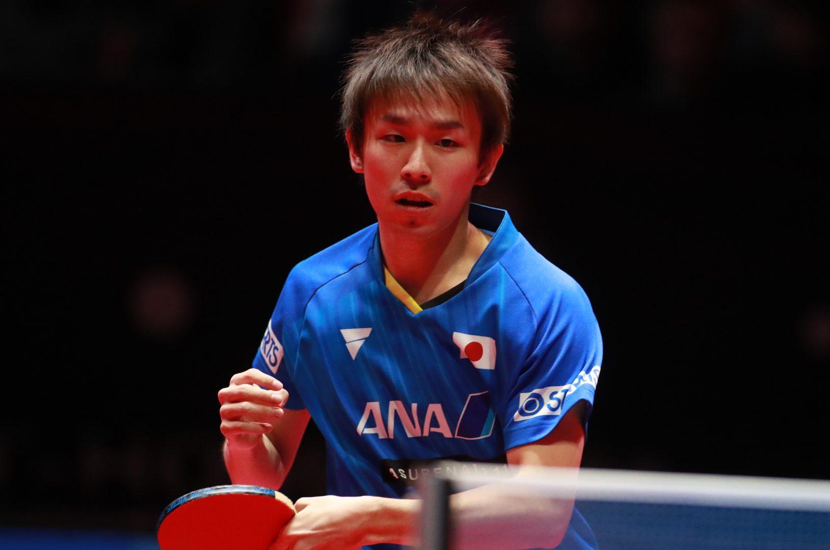 丹羽孝希、韓国選手破りベスト8 次戦は張本と<卓球・男子ワールドカップ>