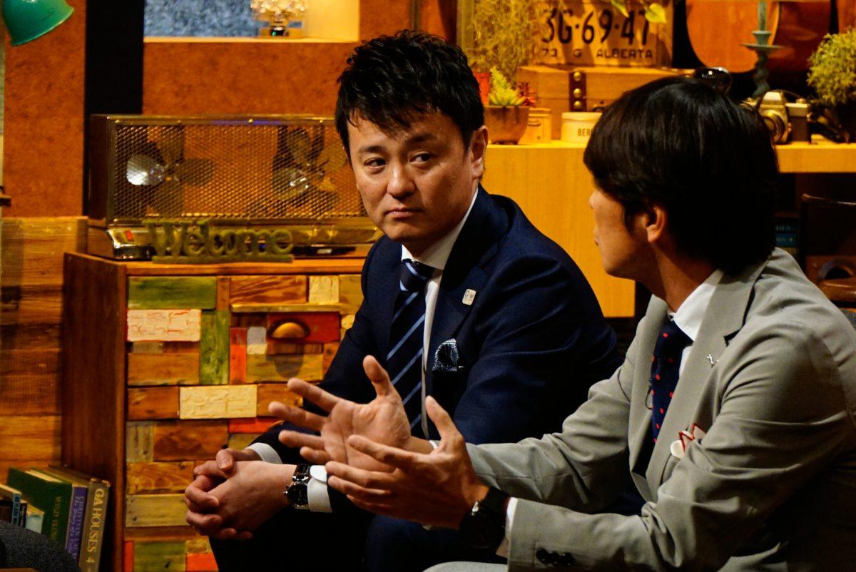 倉嶋洋介氏(写真左)/中西哲生氏(写真右)