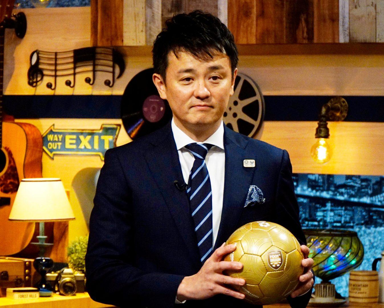卓球・倉嶋男子代表監督、東京五輪企画でサッカー番組「FOOT×BRAIN」出演へ