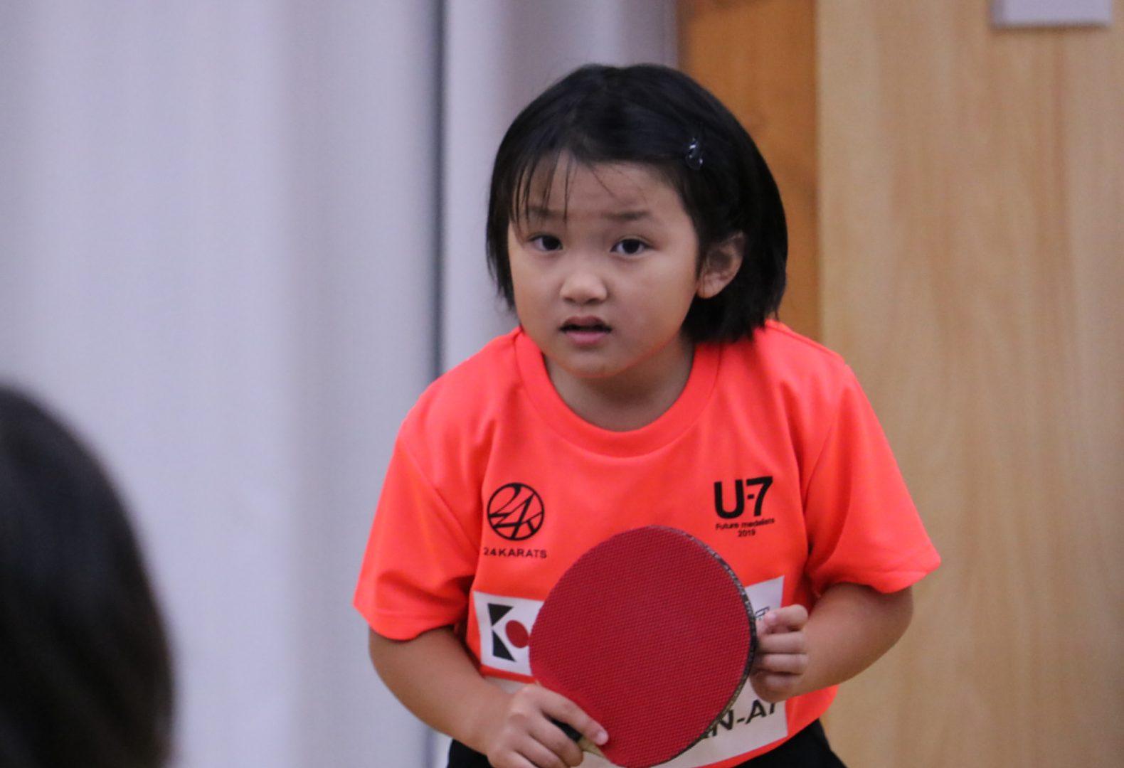 【卓球】U-7強化合宿、2日間のリーグ戦終了 松島輝空の妹・美空が1位に
