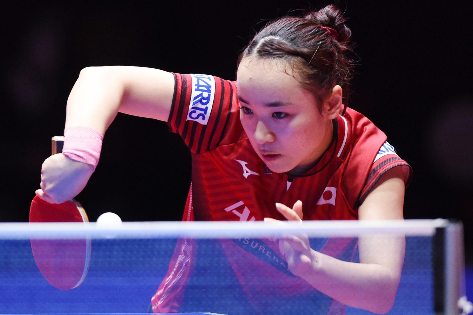 伊藤美誠、今季ツアー初優勝 元世界ランク1位・朱相手に「いい試合ができました」<卓球・オーストリアオープン>