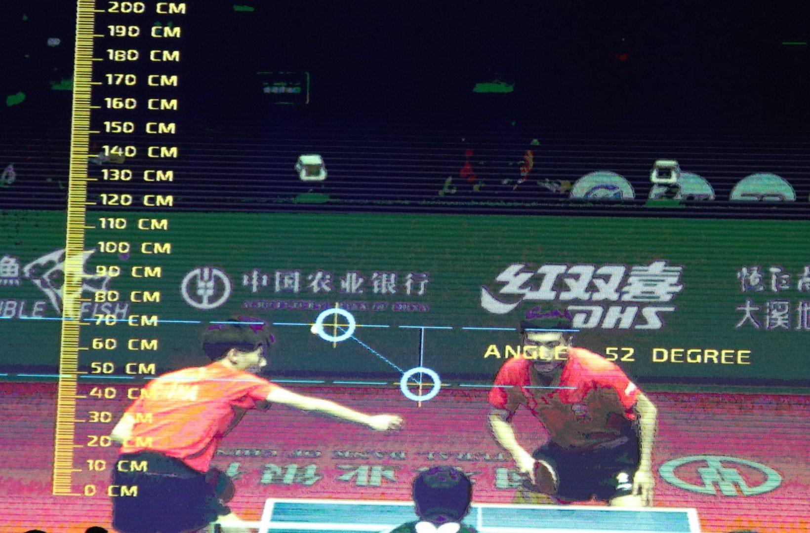 ワールドツアー初のビデオ判定実施 卓球界でも誤審対策進む<グランドファイナル>