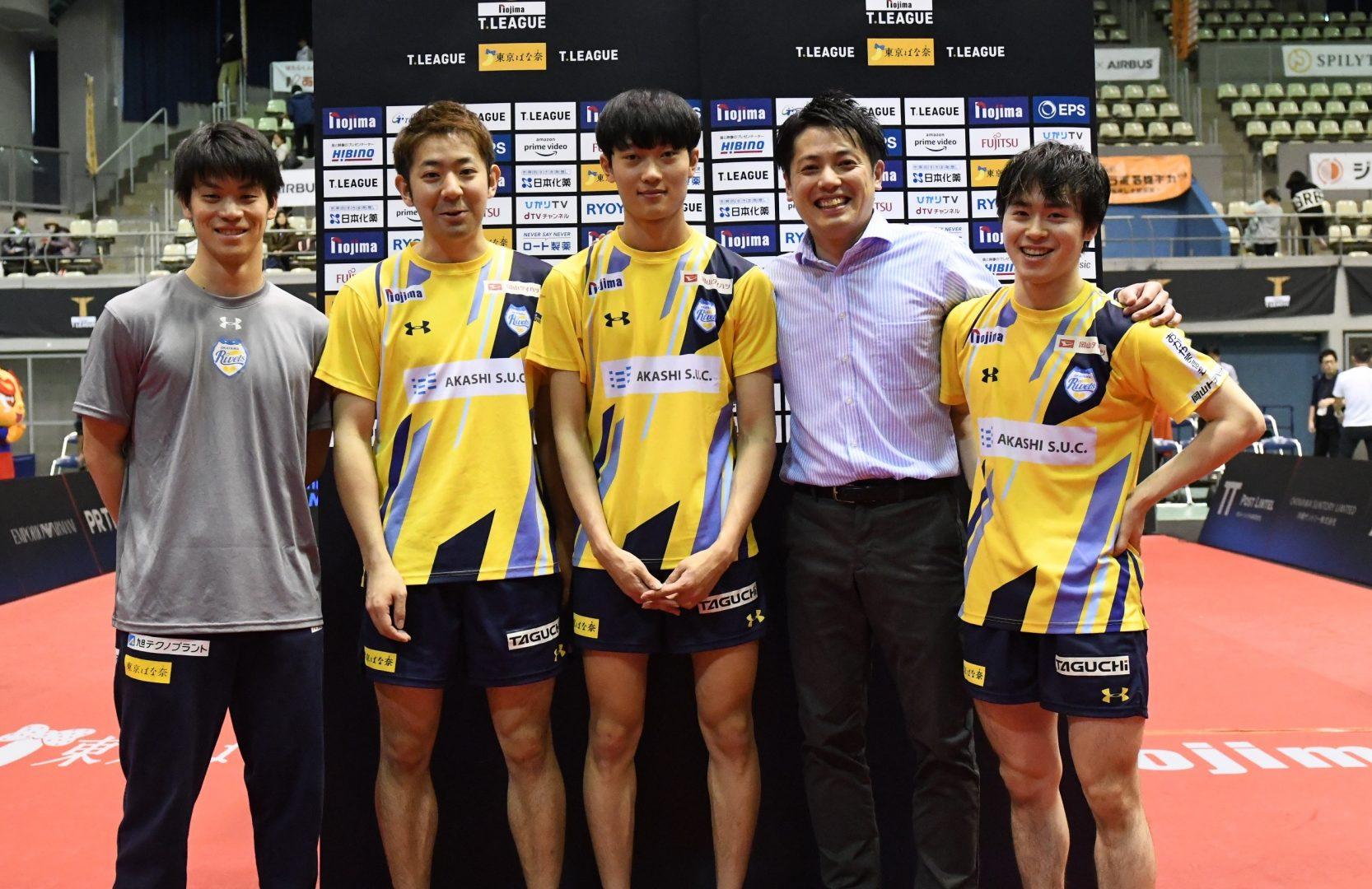 岡山、連敗ストップ 韓国の17歳サウスポーに白神監督「感謝しかない」<卓球・Tリーグ結果速報>