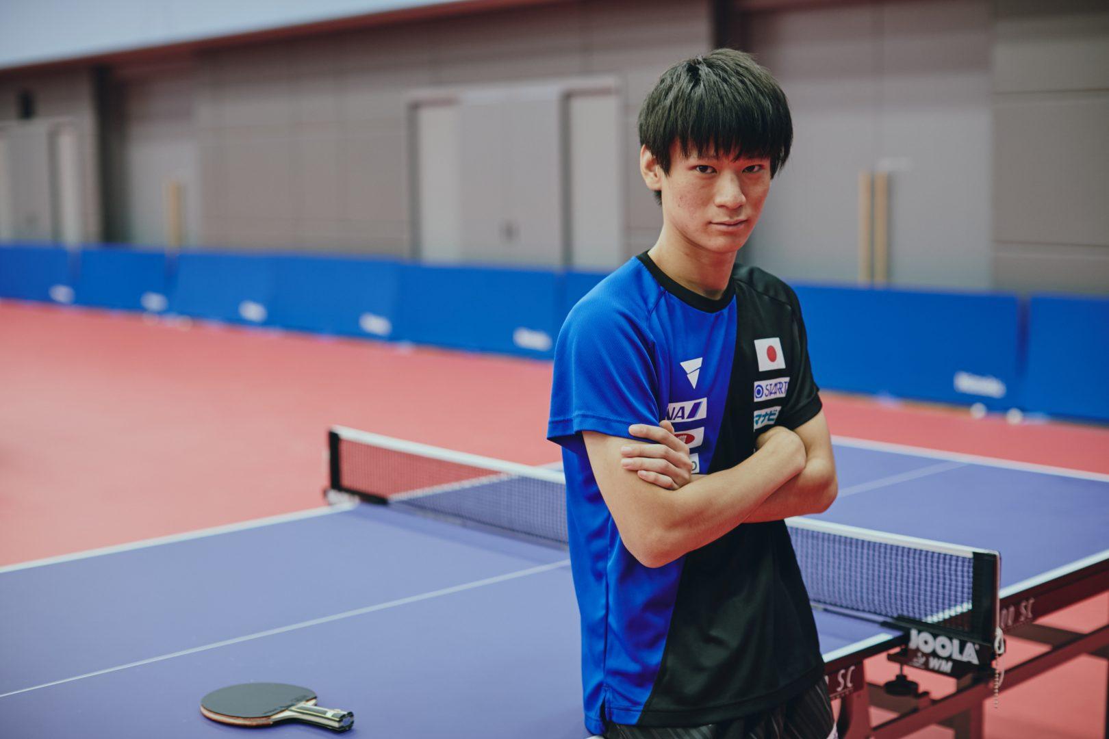 卓球界の次世代ホープ・戸上隼輔 リオ銀吉村育てた名将と歩んだ高校生王者への道<前編>