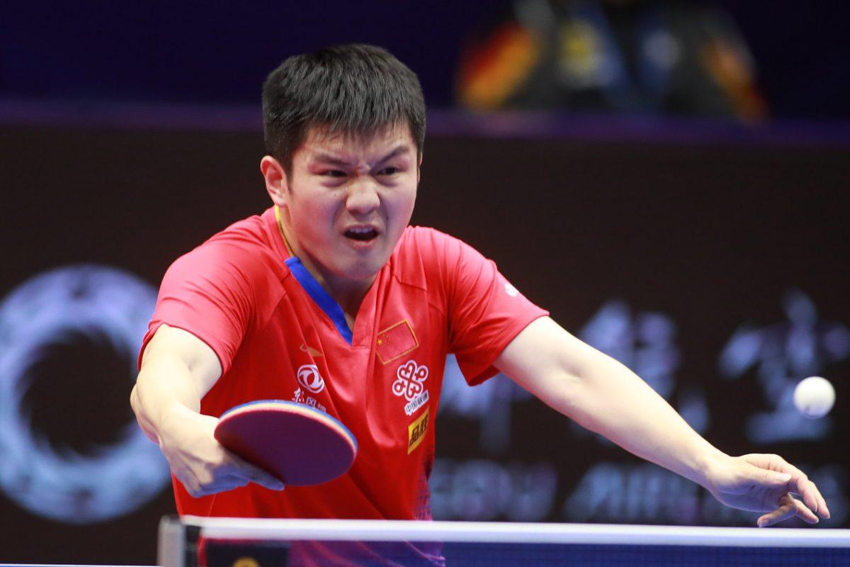 前回王者・樊振東、台湾の18歳に圧勝<卓球・男子ワールドカップ>
