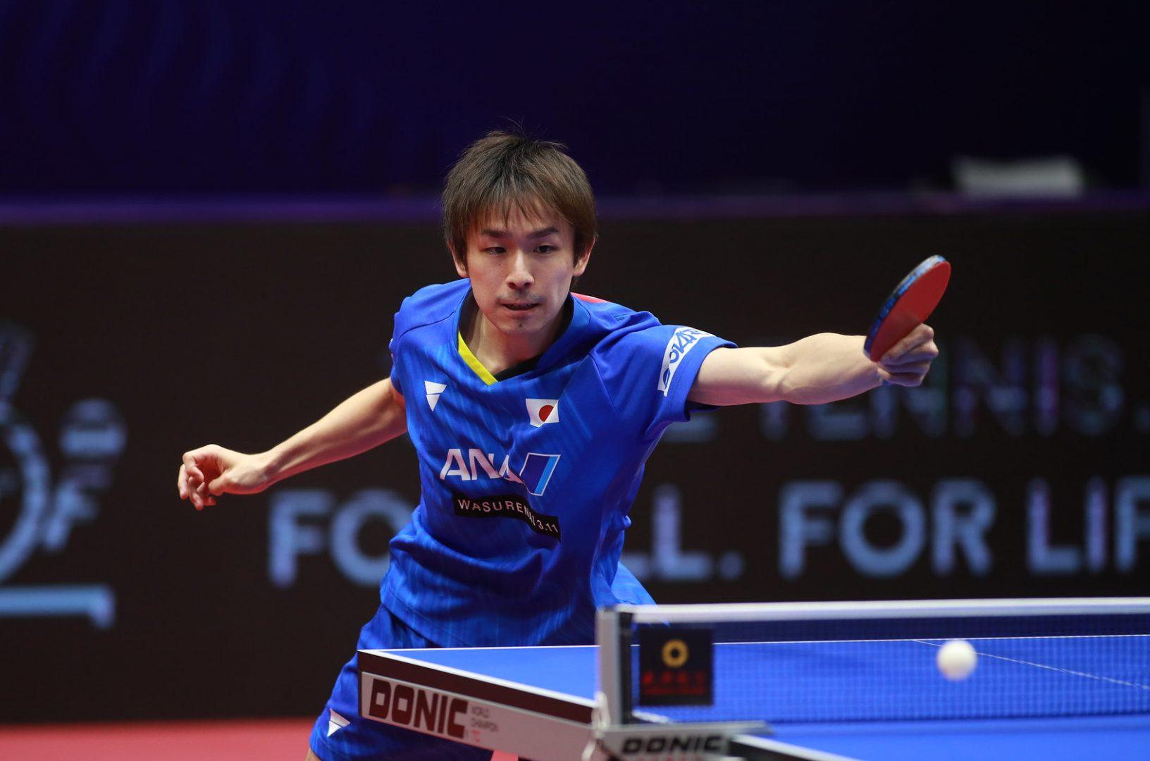 2020年1月有効な世界ランキングポイント(男子W杯終了時点)丹羽孝希が日本男子2番手に