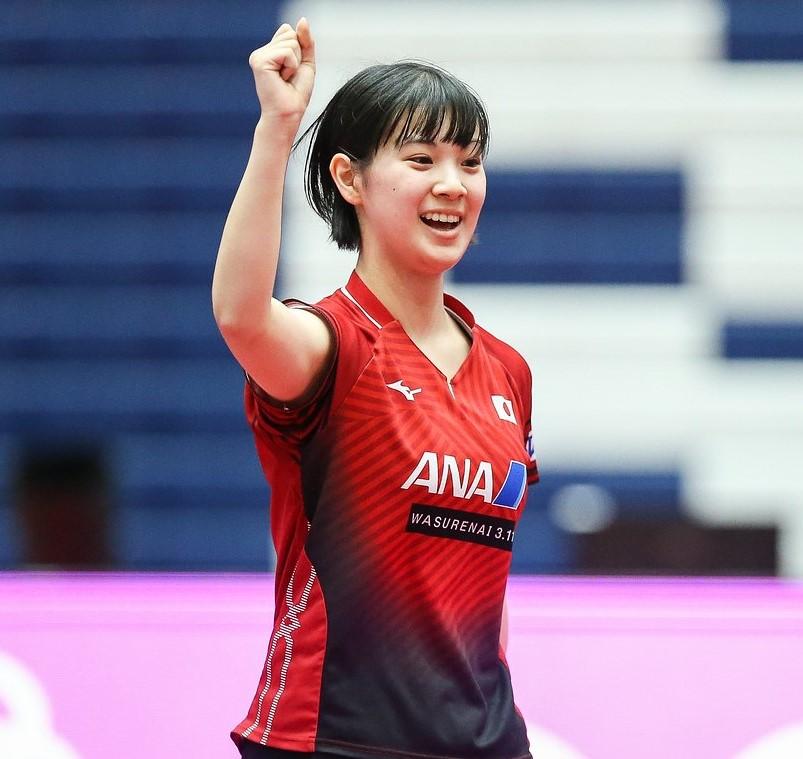 【卓球】長﨑美柚のアヒル走りが「可愛い」と話題に 緊迫した決勝の微笑ましい一幕