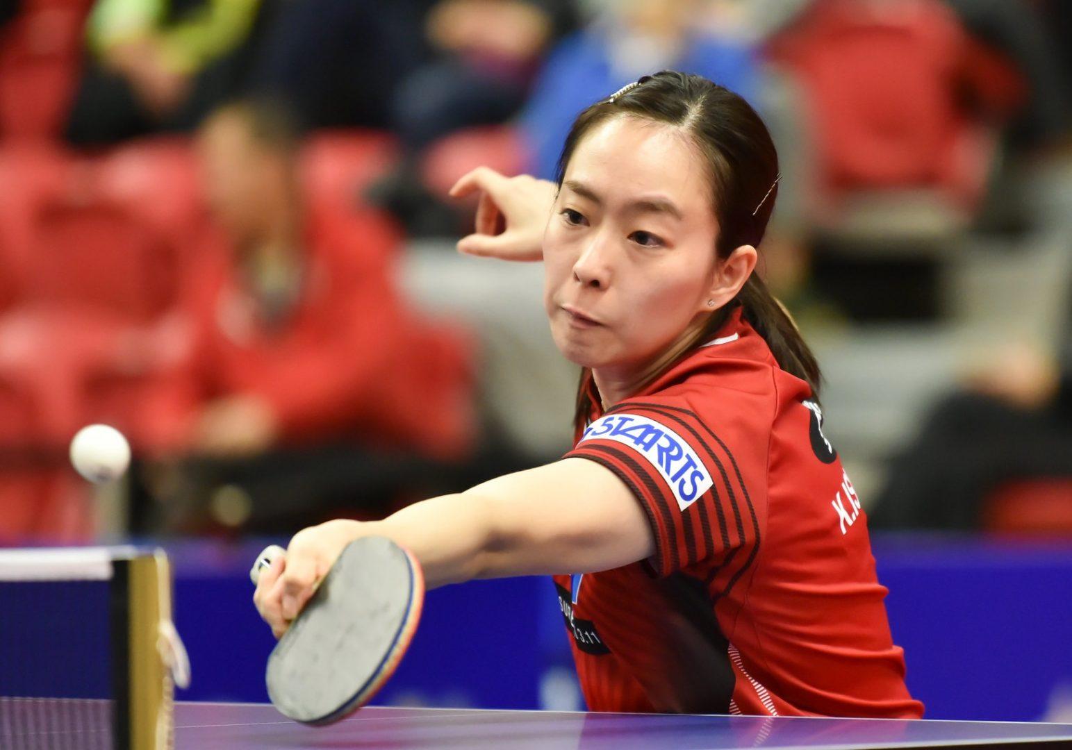石川佳純がV 平野美宇との五輪代表争いに逆転<卓球・ノースアメリカンオープン>