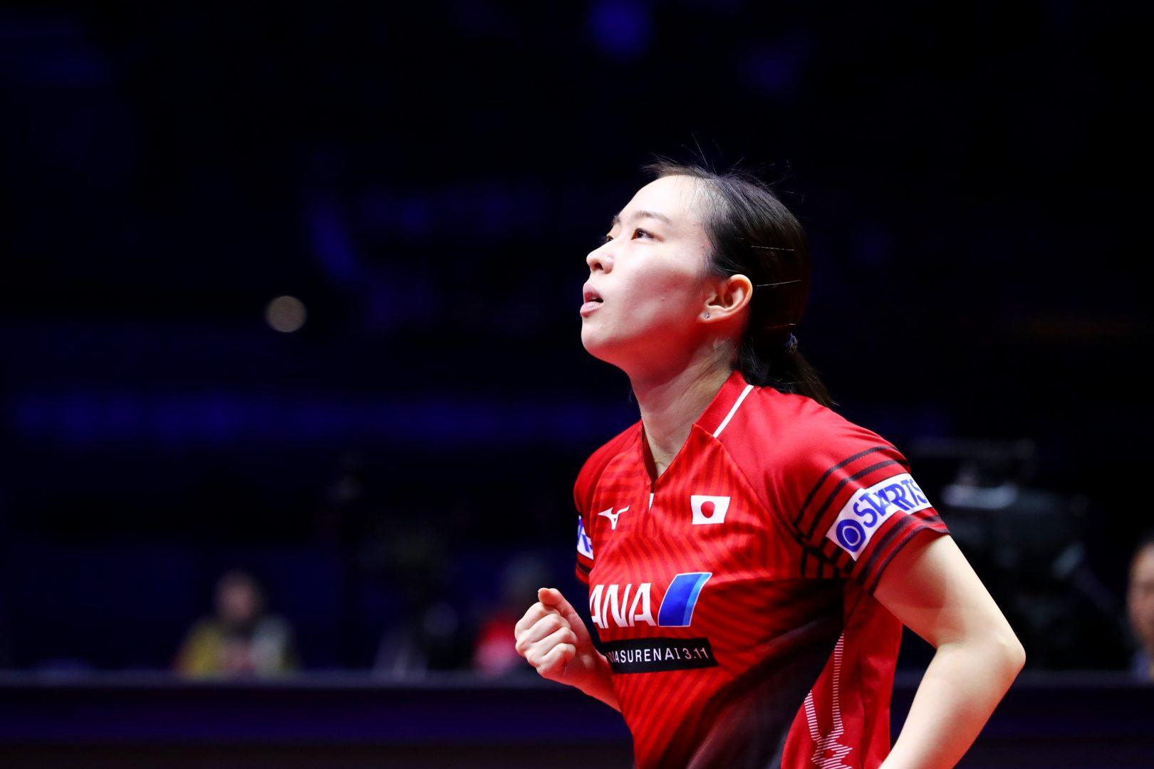 3度目五輪へ石川佳純「最高のプレーをしたい」 ロンドン、リオではメダル獲得