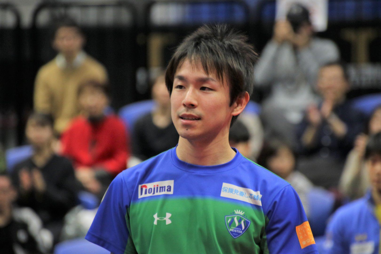 完勝の丹羽「プロ選手としてのやりがいを感じる」 張本敗れるもKM東京に軍配<卓球・Tリーグ>