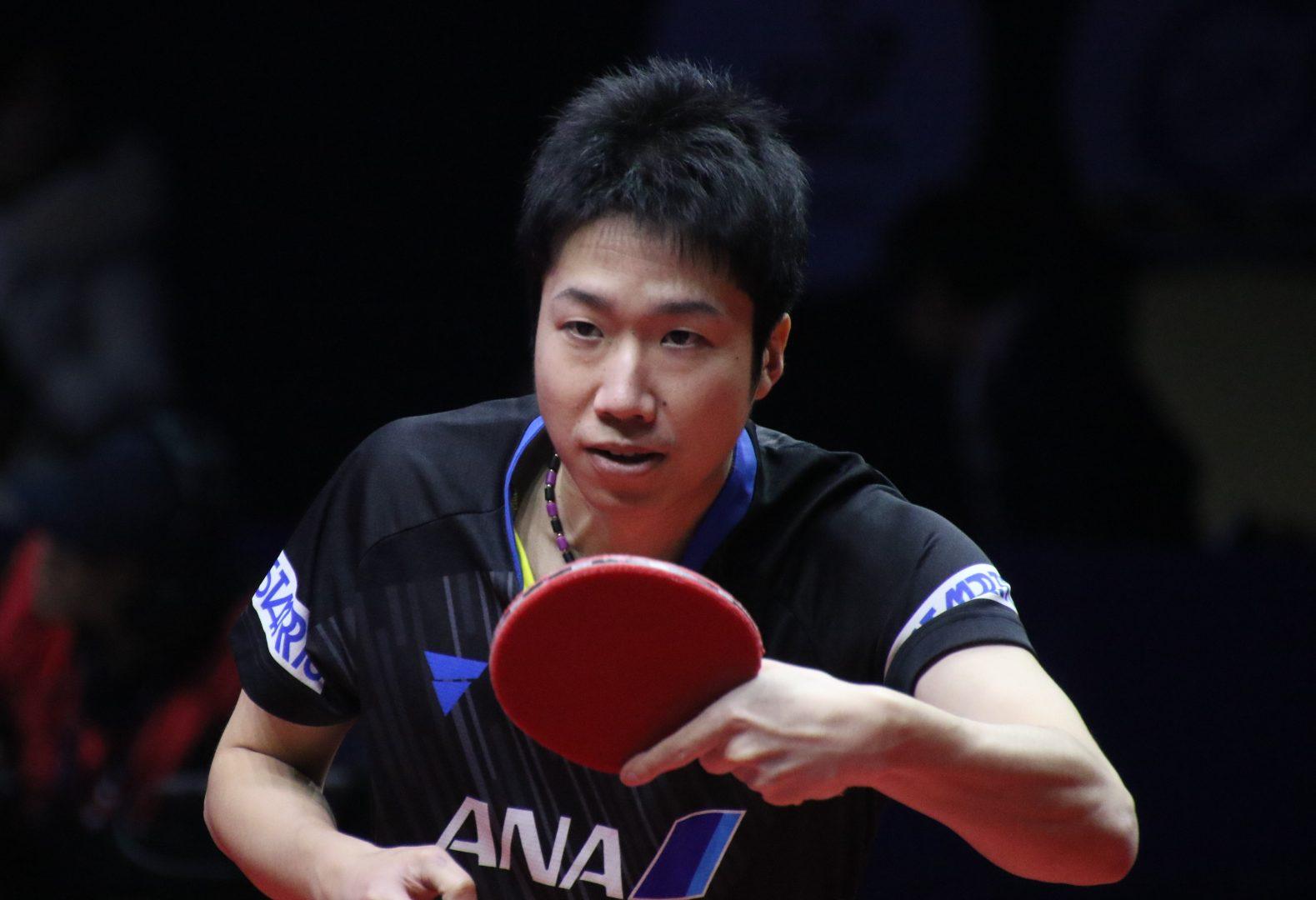 水谷隼が卓球東京五輪代表男子3人目 張本智和、丹羽孝希とともに団体金目指す
