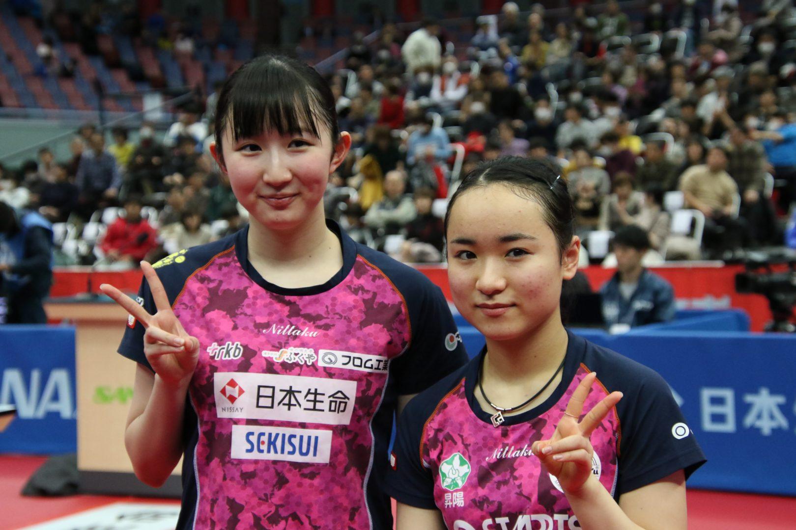 【全日本卓球2020直前企画】前回大会の名勝負を振り返る・ダブルス編