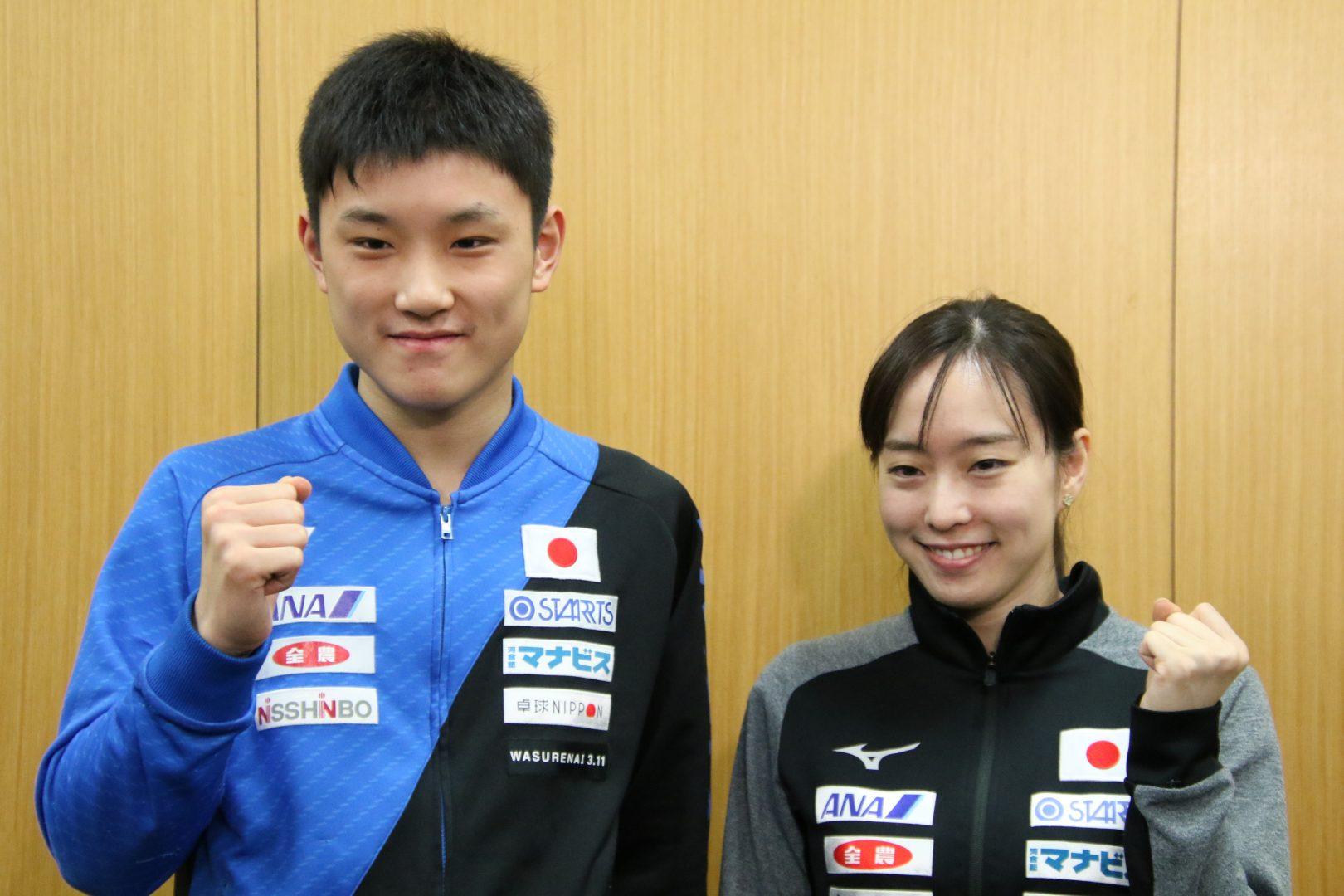 張本智和、初の卓球五輪代表へ 「新たなスタートだと思って頑張りたい」