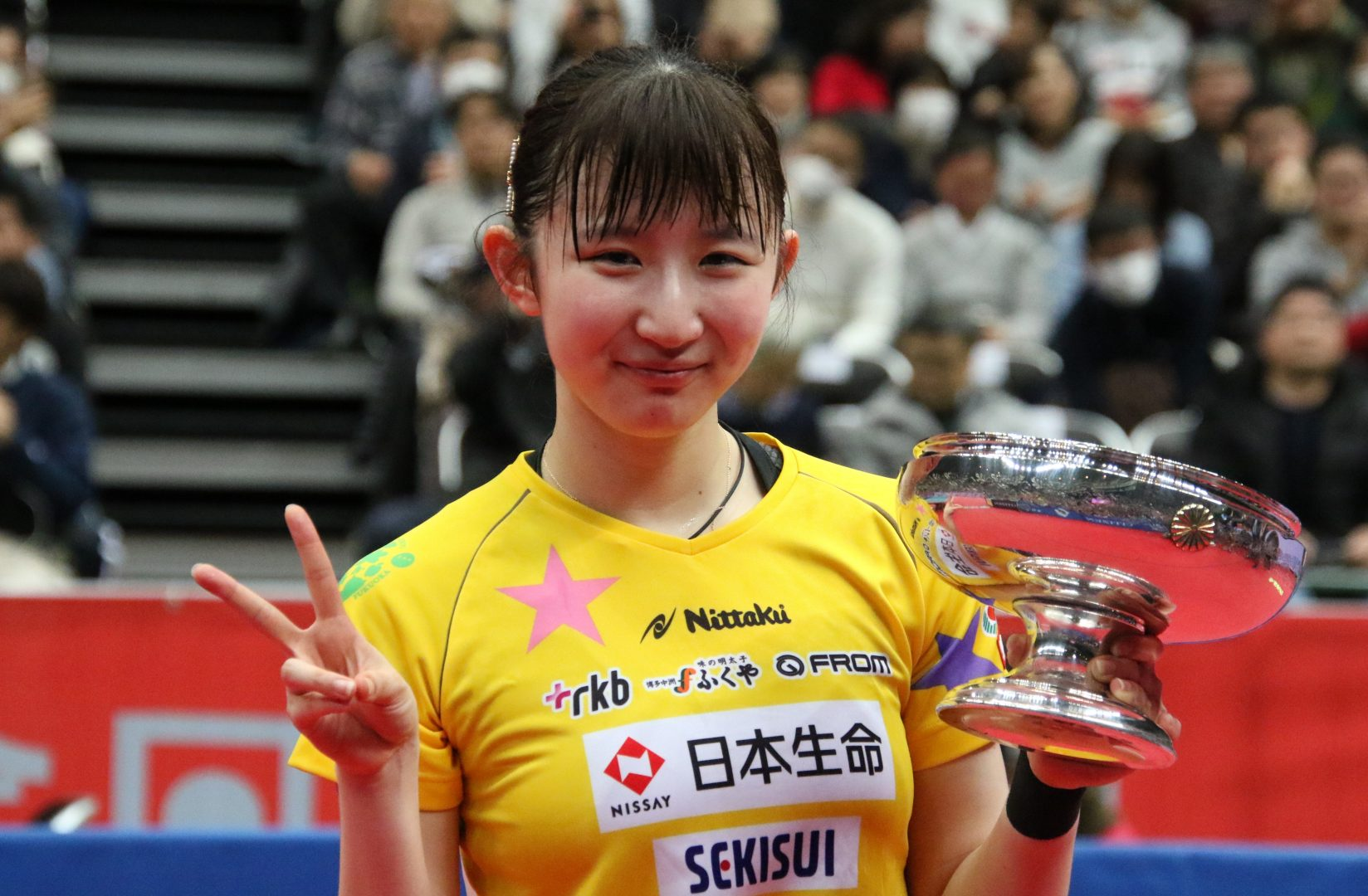 【速報】早田ひな、令和初の女王に 伊藤、石川の五輪代表連破<全日本卓球2020>