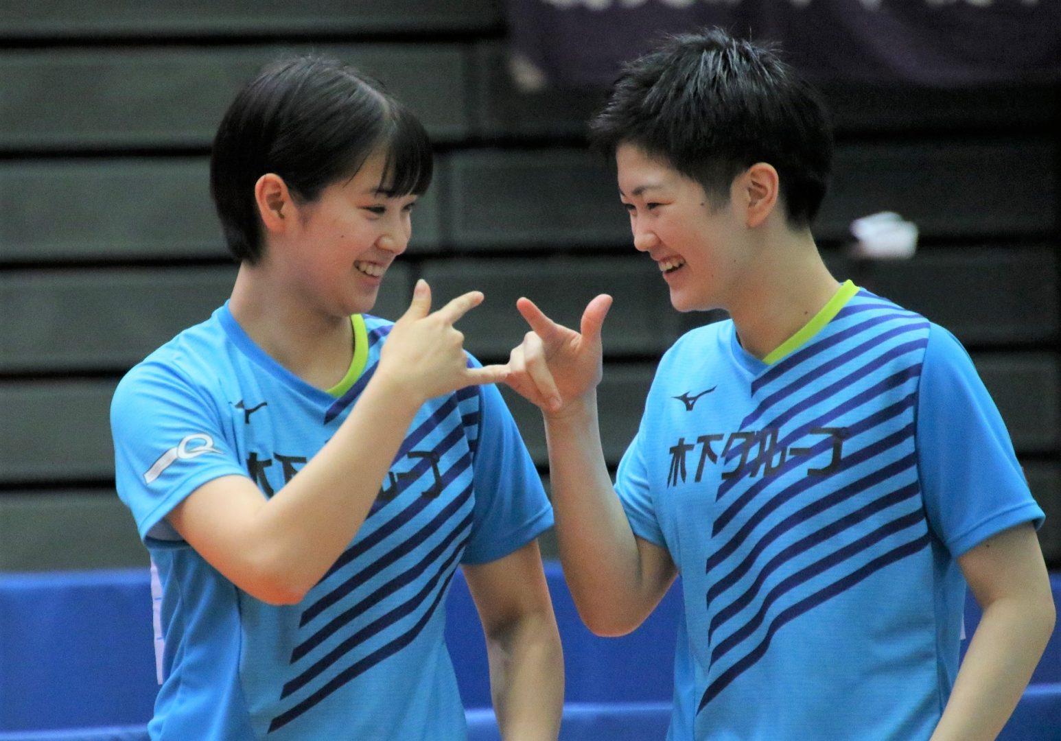 【完全保存版】激闘の7日間を写真で振り返る 女子ダブルス編<全日本卓球2020>