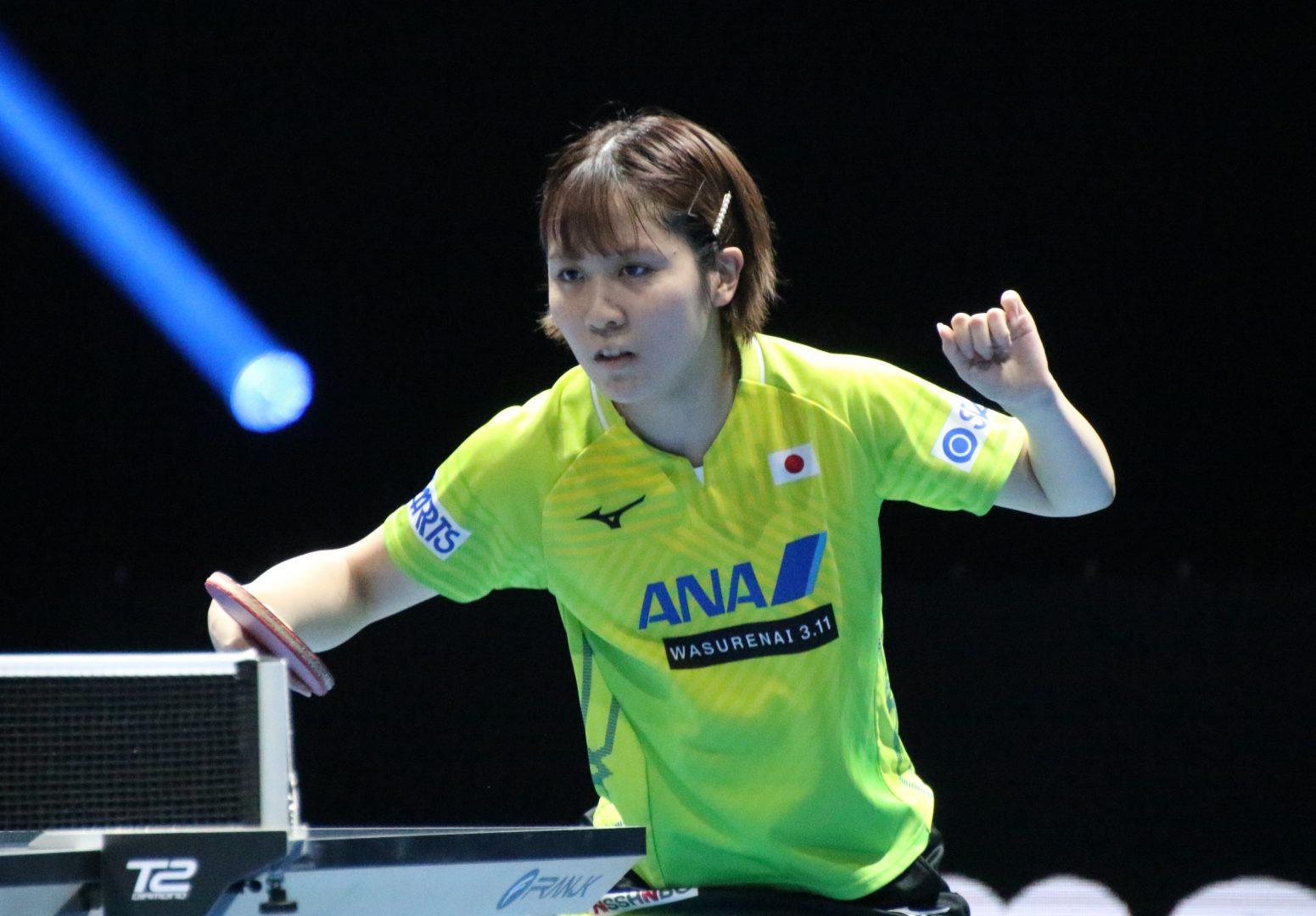 平野美宇「チームに貢献できるように精一杯頑張ります」 卓球東京五輪代表女子3人目に選出