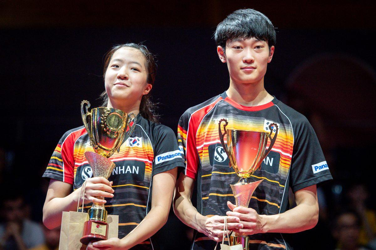 申裕斌(写真左・韓国)、趙大成(写真右・韓国)