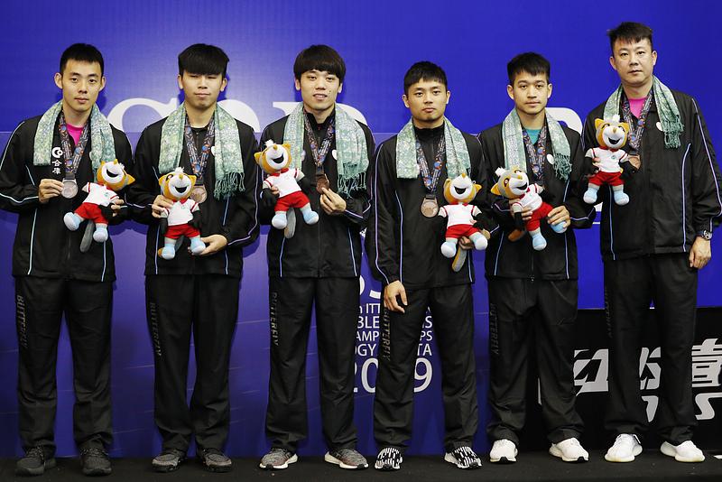 写真:2019年アジア卓球選手権でのチャイニーズタイペイチーム/提供:ittfworld