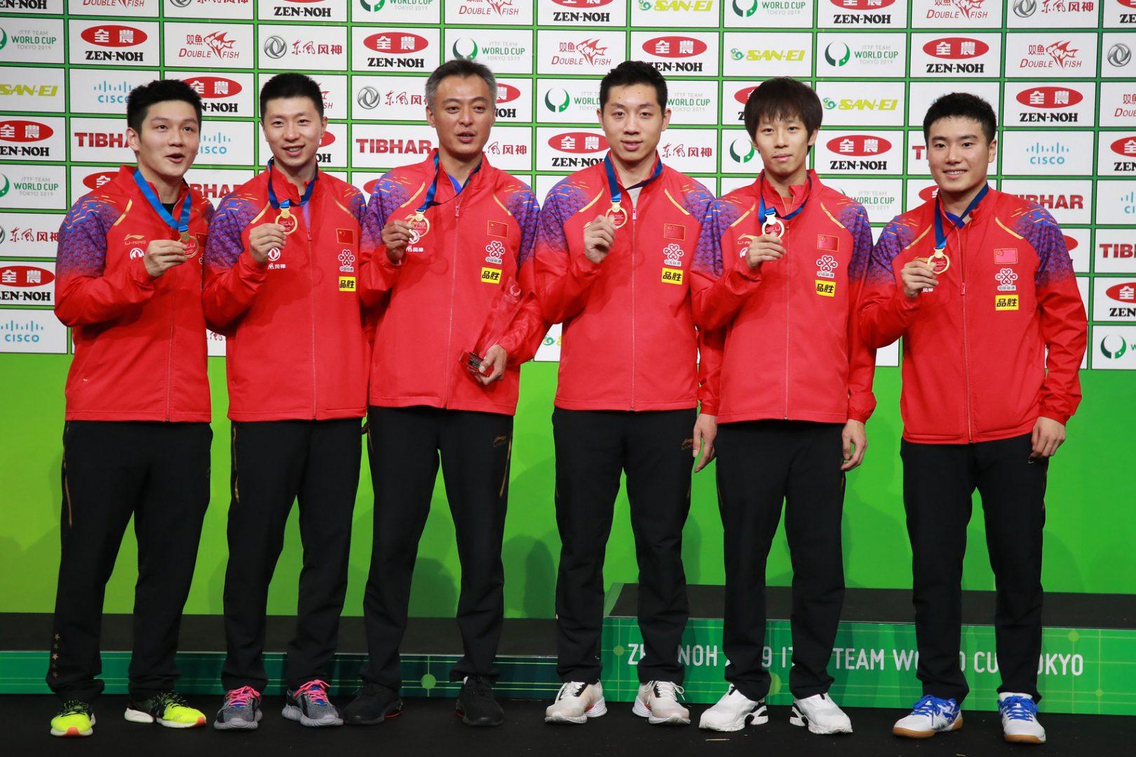 卓球帝国・中国男子 圧倒的王者の強さの理由|東京五輪ライバル国特集