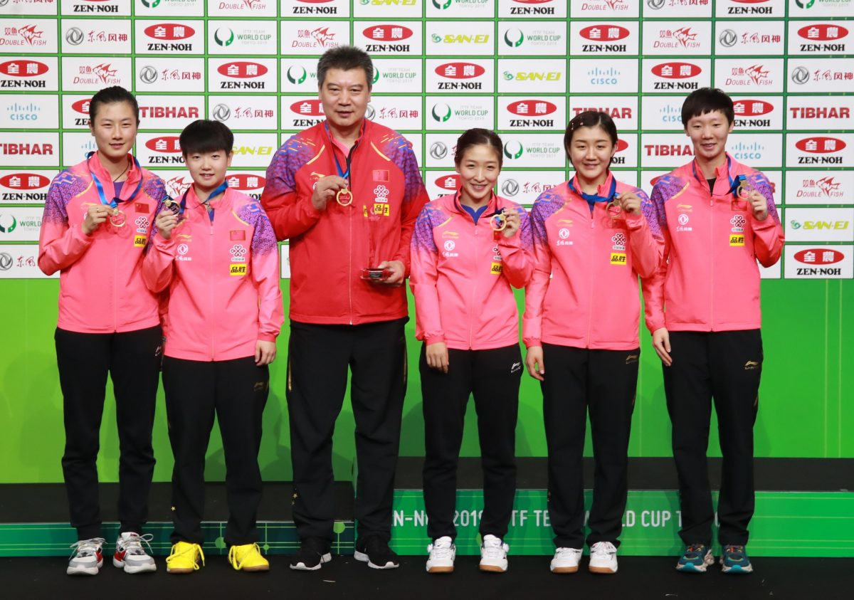 卓球帝国・中国女子 最強軍団を支えてきた歴代エースを紹介|東京五輪ライバル国特集