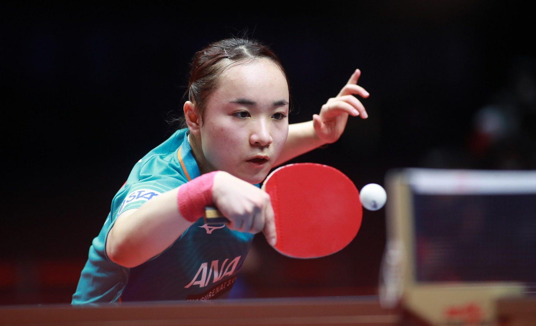 卓球女子世界ランキング(1月発表)|伊藤美誠が3位 2か月連続の自己最高位更新