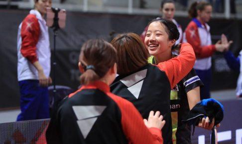 女子韓国代表チーム