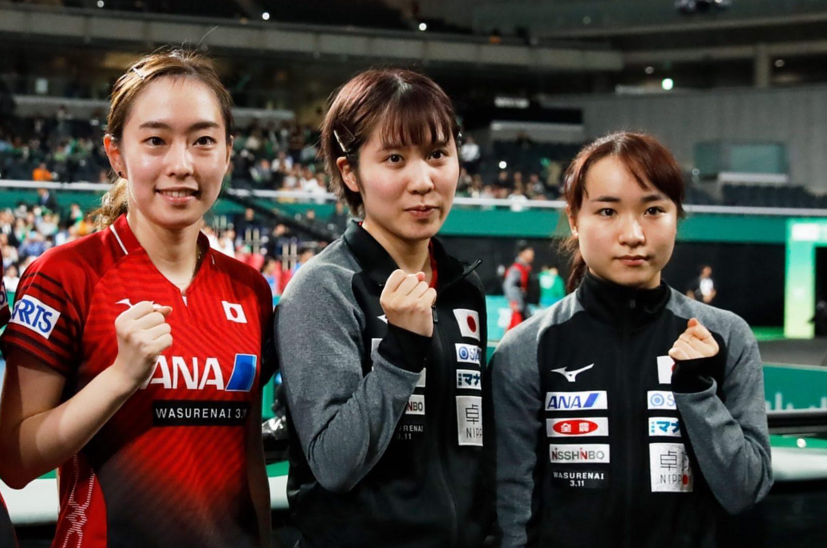 卓球東京五輪代表、女子3人目は平野美宇 伊藤美誠、石川佳純と悲願の金メダルへ