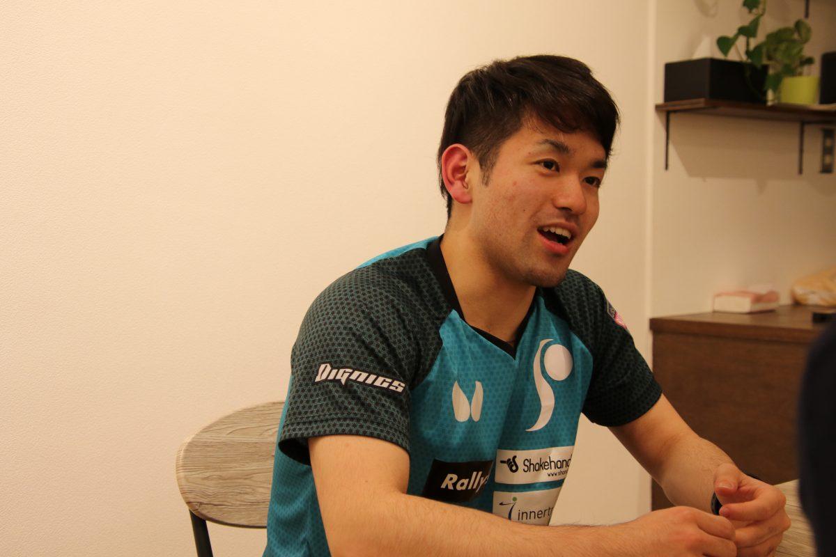 及川選手インタビュー