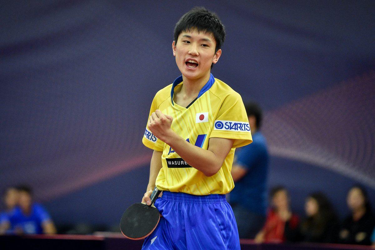 低年齢化の進む卓球アスリート 各競技の東京五輪代表内定者一覧と比較