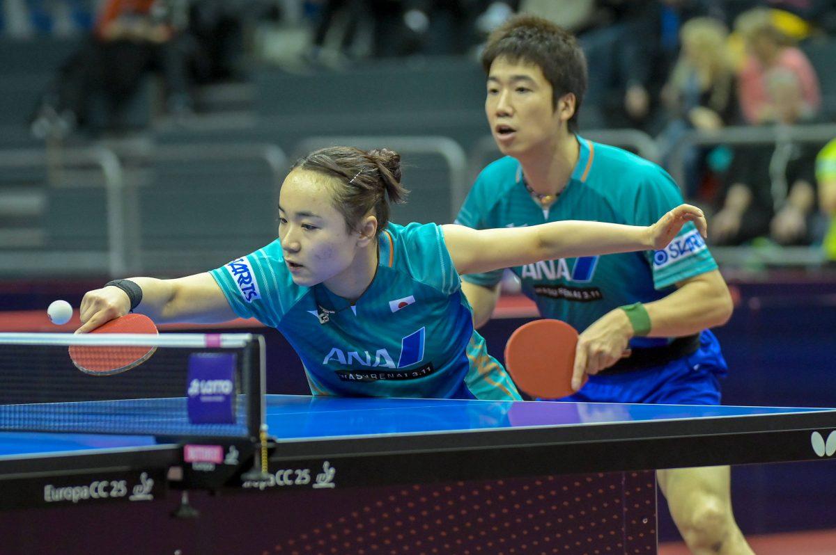 水谷隼/伊藤美誠、五輪イヤー初戦は準優勝 世界王者・中国ペアに及ばず<卓球・ドイツオープン>
