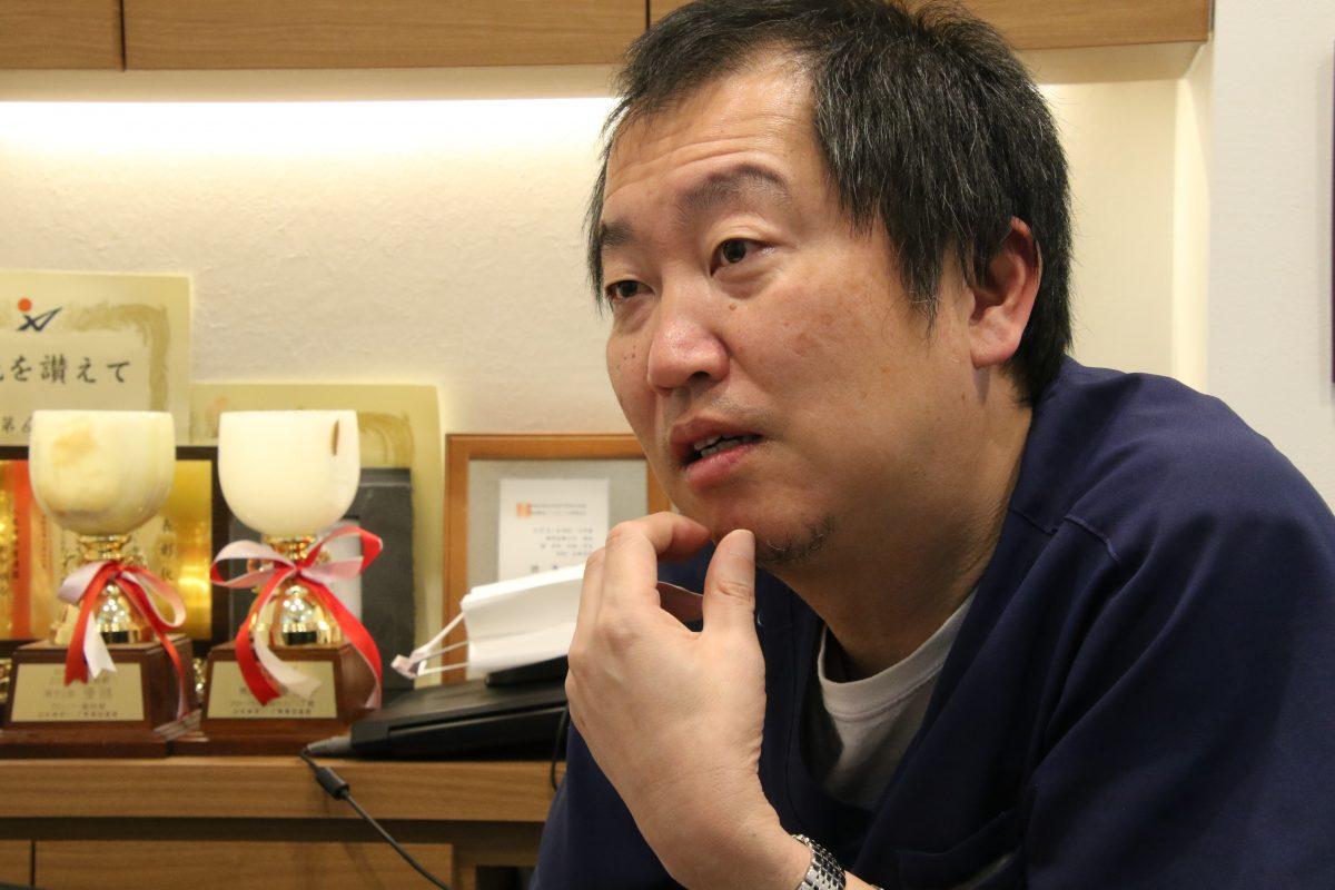 写真:保田晃宏クローバー歯科カスピッズ総監督/撮影:ラリーズ編集部
