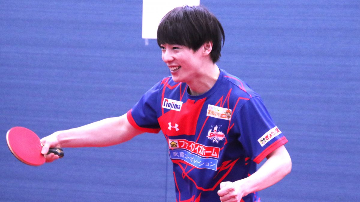 T.T彩たま、新練習場で公開練習 神巧也、松平健太のプレーにファン釘付け