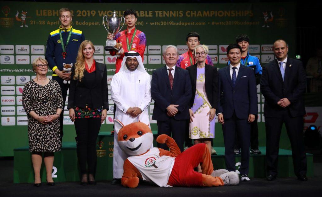 世界卓球2019表彰式