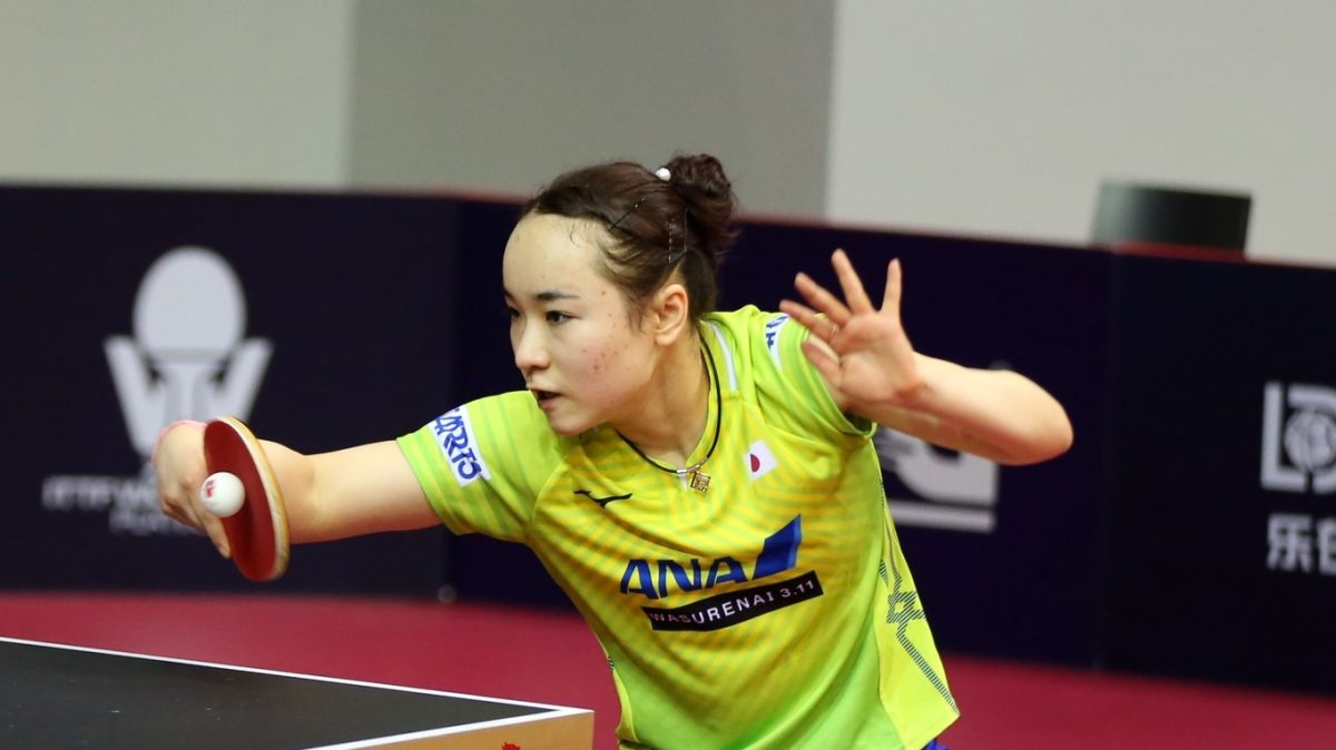 伊藤美誠、決勝へ リオ五輪金に圧巻のストレート勝ち<卓球・カタールオープン>