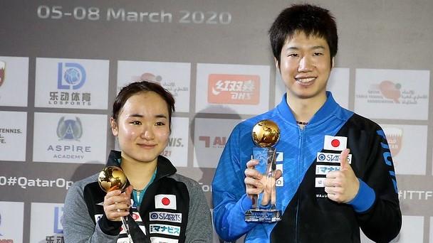 【今週の日本の卓球】じゅんみまペア、今季初V カタールオープン全日程終了