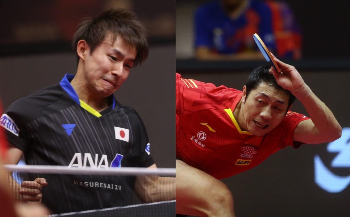 丹羽孝希と最強左腕・許昕の超絶ラリー、ITTFベストポイントに<卓球・カタールオープン>