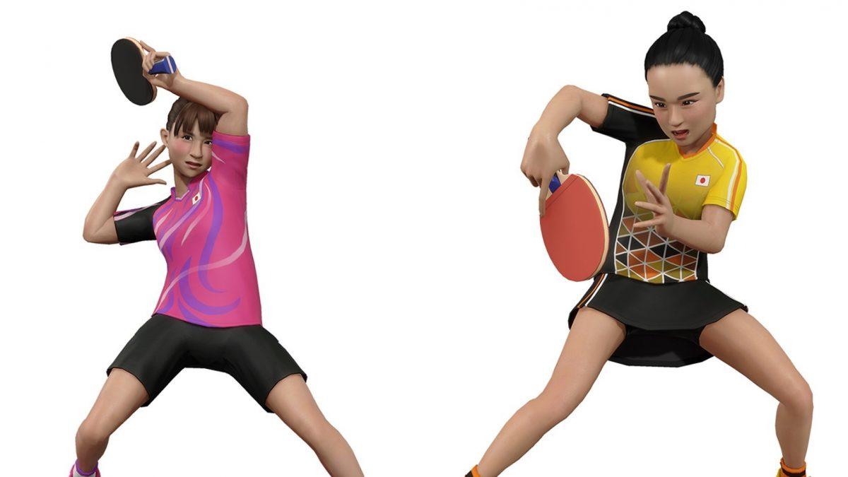 【卓球】伊藤美誠・早田ひなが再びゲームに登場 単複で対戦可能に
