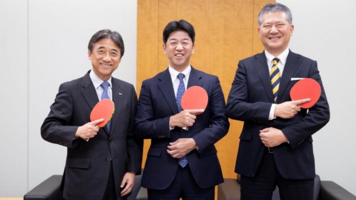 Tリーグとドコモが「トップパートナー契約」締結 卓球観戦をより楽しむために