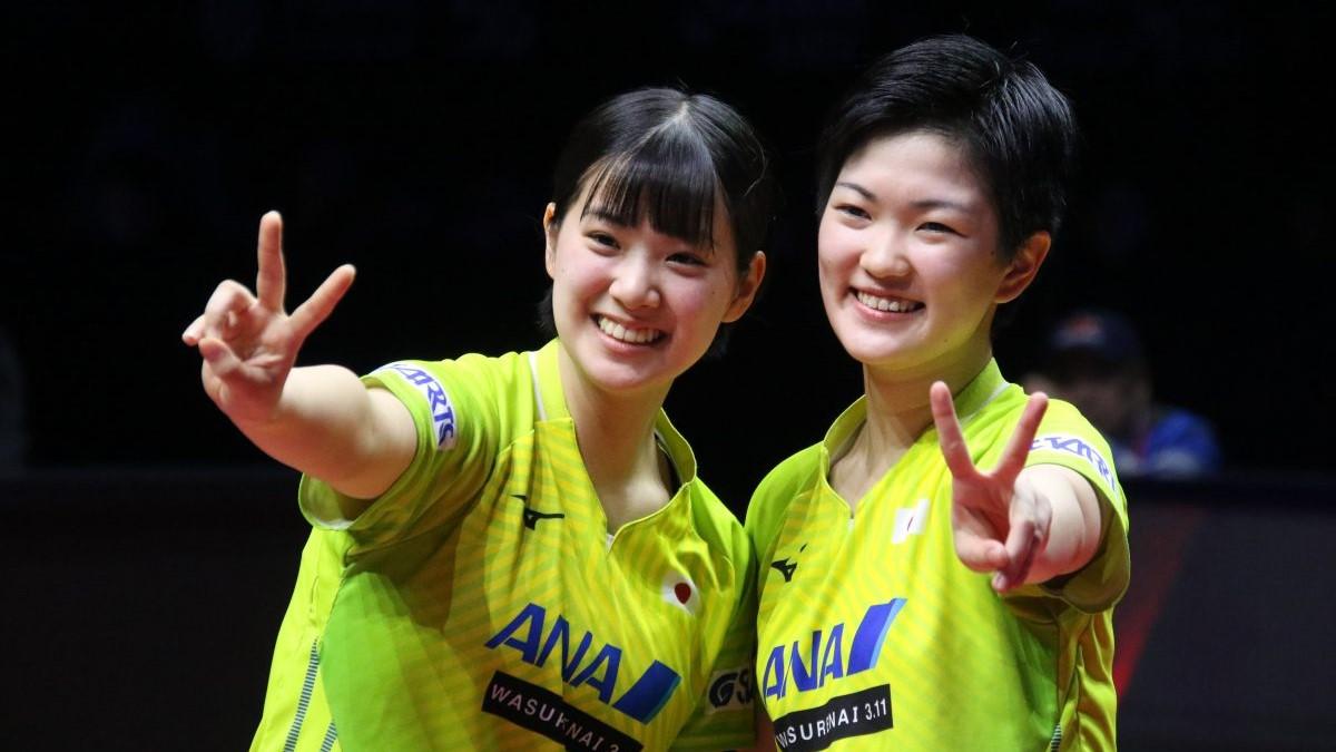 """""""ダブルみゆう""""のスーパープレーも 国際卓球連盟、2019年名ラリーをピックアップ"""