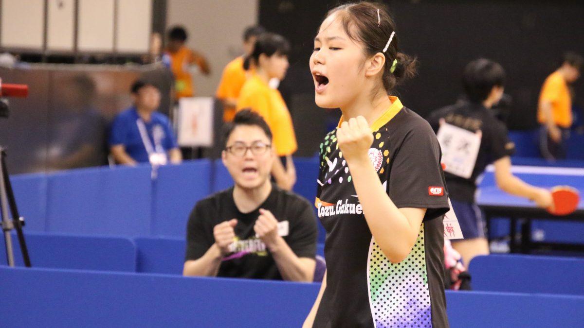 Tリーガー・皆川優香は大阪成蹊大へ 関西卓球界に実力者集う
