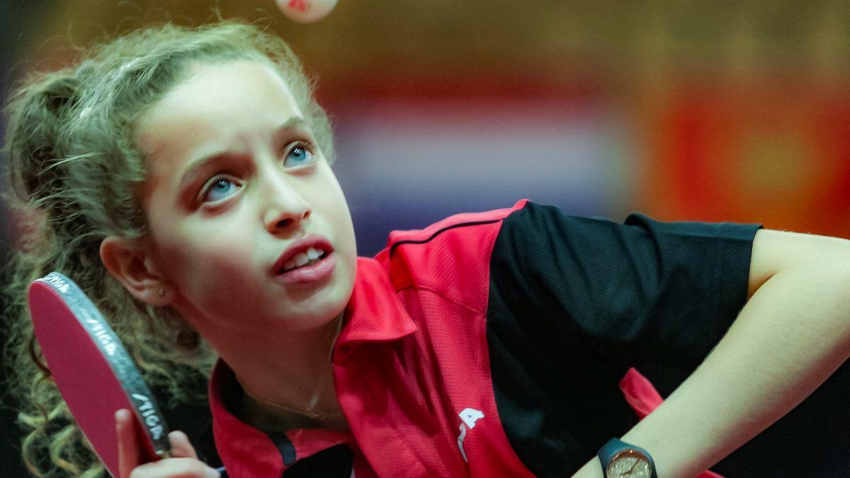 世界卓球代表でU15世界ランク1位 アフリカの天才少女「パリ五輪出場が私の夢」