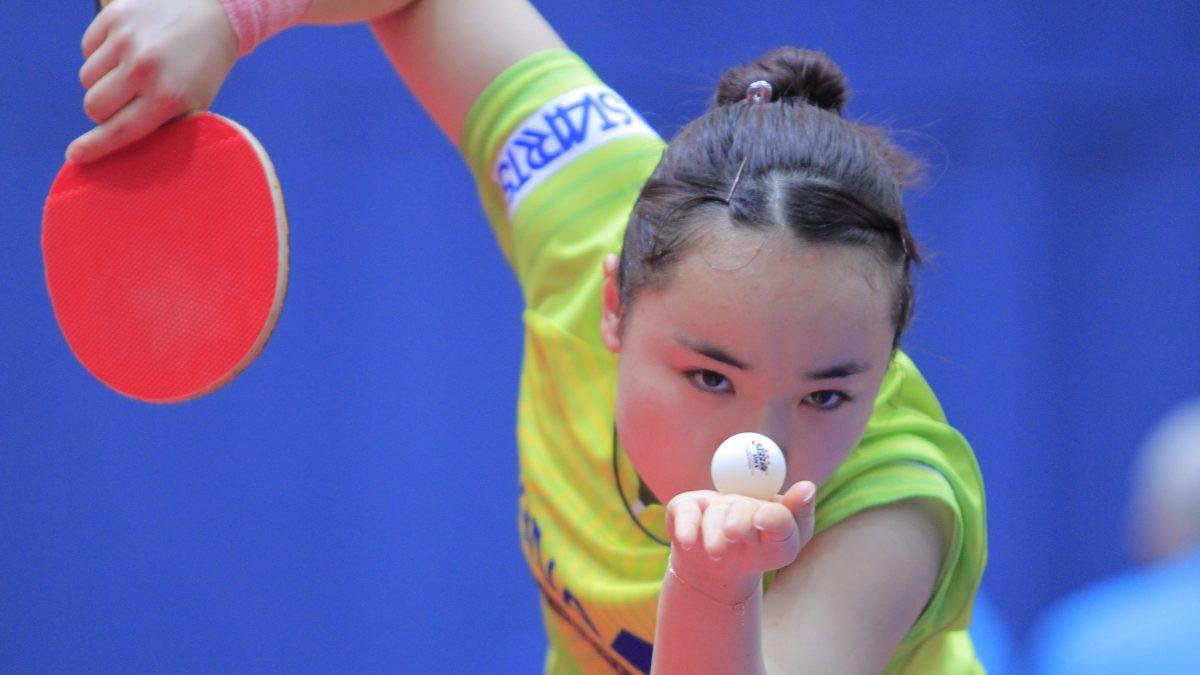 21世紀卓球女子ドリームチーム、2番手に伊藤美誠 ITTFが発表