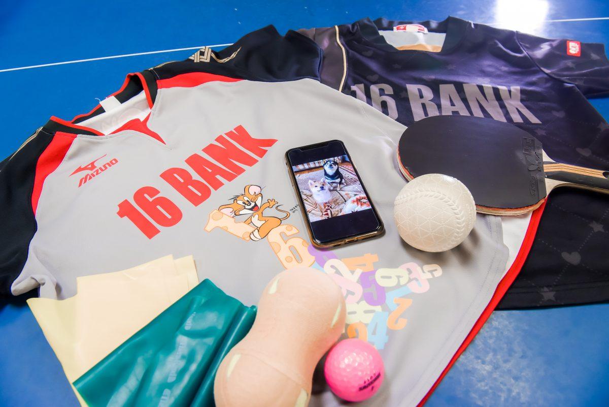 写真:加藤杏華の卓球ギア/撮影:ハヤシマコ