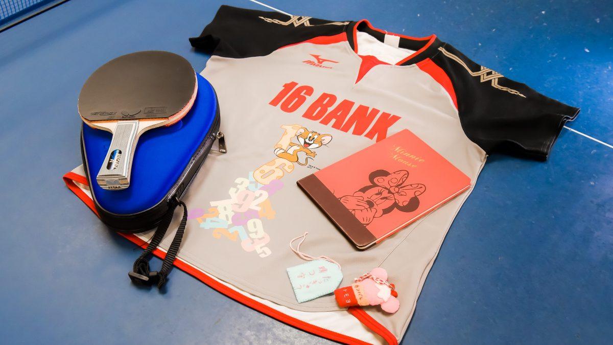 竹本朋世(十六銀行)の卓球ギア|俺の卓球ギア#65