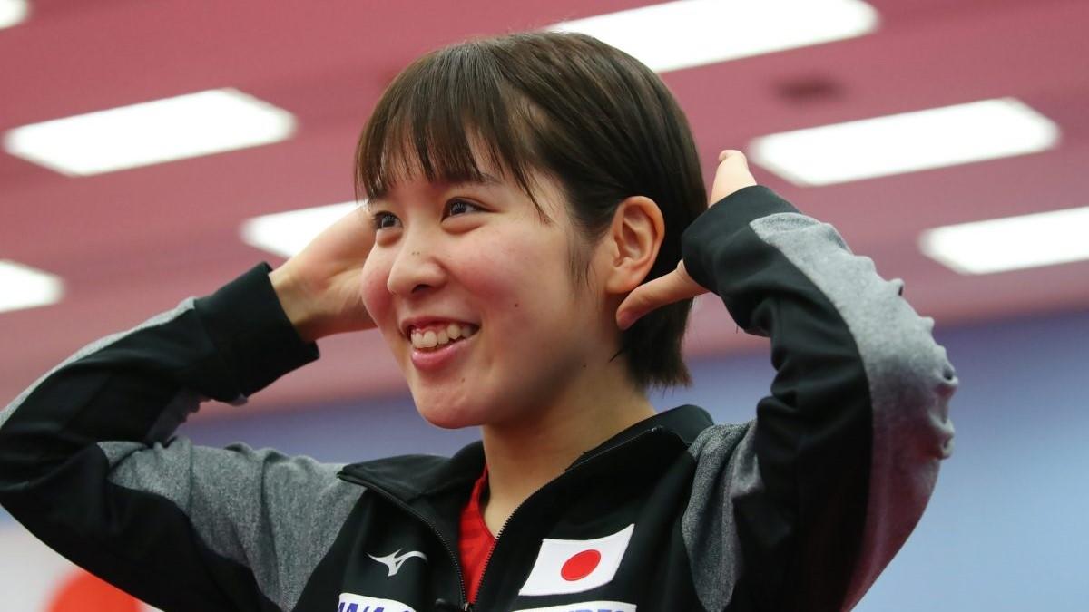 平野美宇、卓球リフティング×スクワットを披露 「かわいいが勝ってしまう」の声も