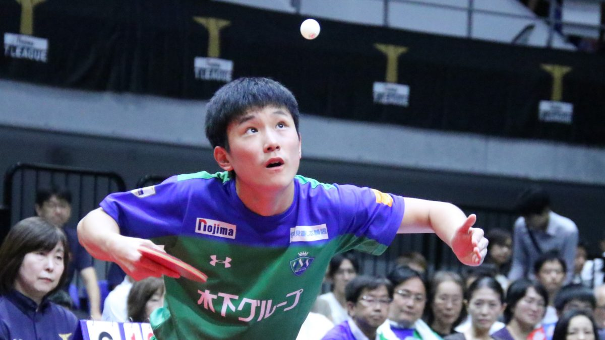 張本智和、通算30勝へ残り6つ Tリーグ3rdシーズンで達成されそうな記録<男子編>